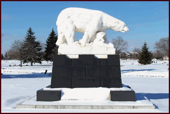 Polar Bear Monument